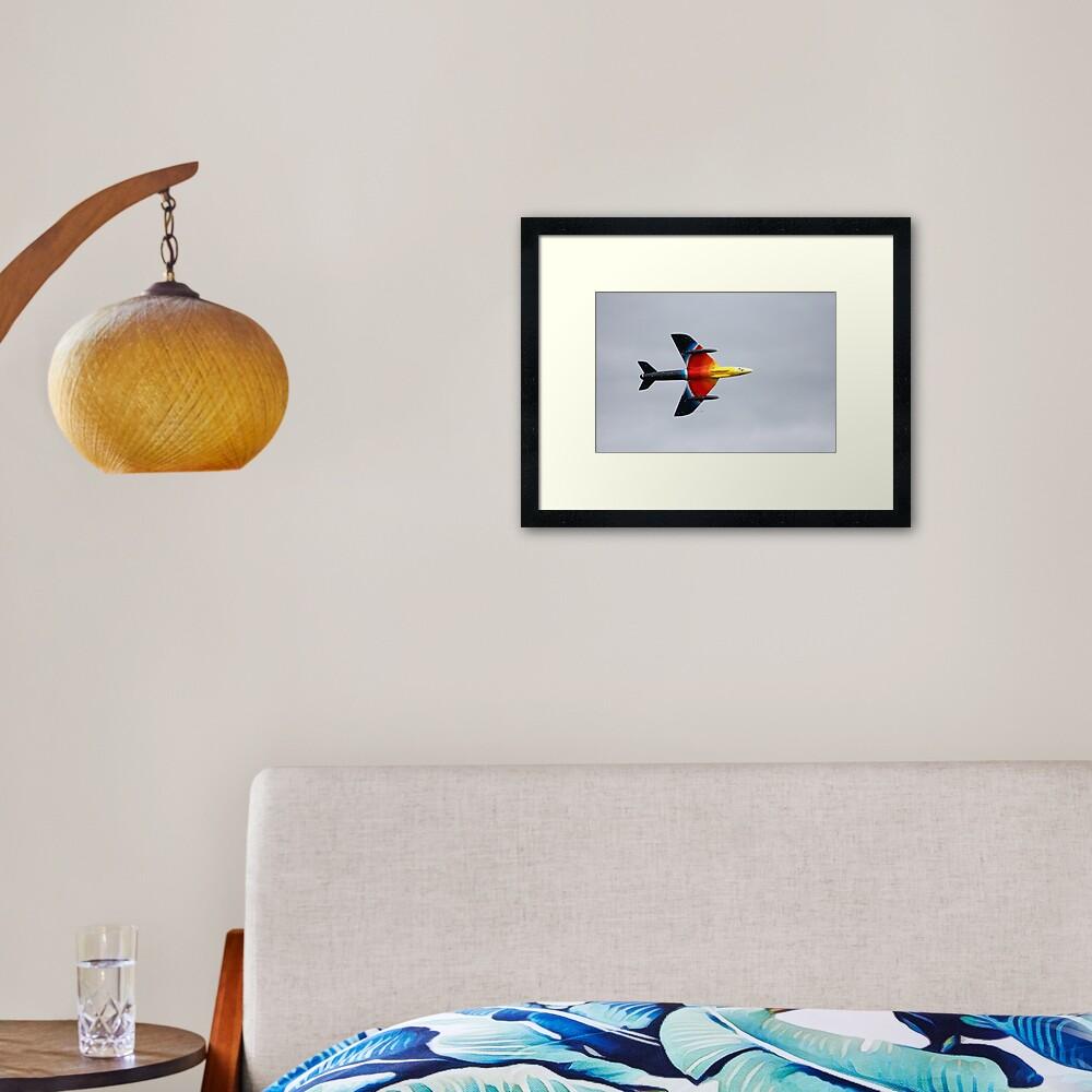 Hawker Hunter F58A Framed Art Print