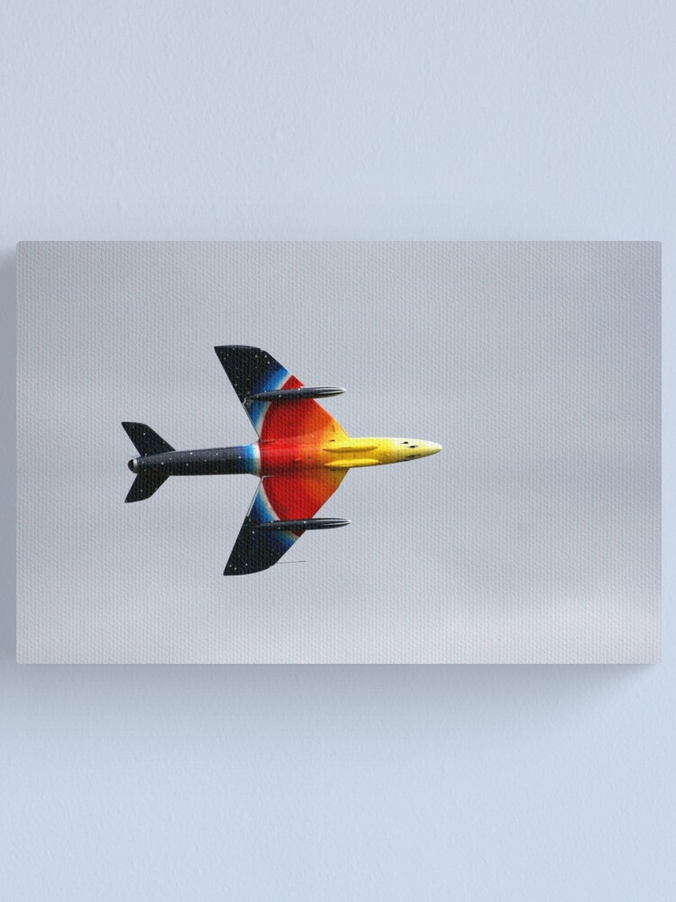 Alternate view of Hawker Hunter F58A Canvas Print