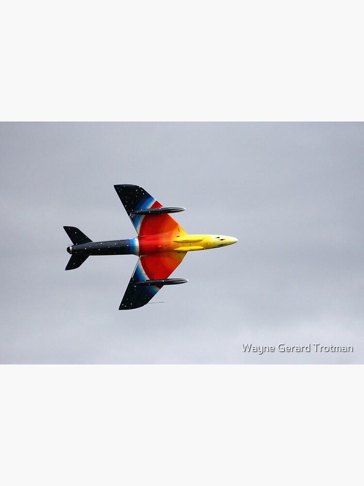 Hawker Hunter F58A by redmoondragon