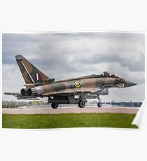 RAF Typhoon ZK349 Poster