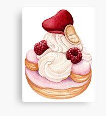 St. Honoré Pastry Canvas Print