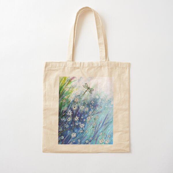 Dainty Daisies Cotton Tote Bag