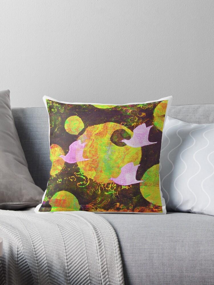 Three Cosmic Birds Digitally Altered Version of Original Work 4 by Heatherian