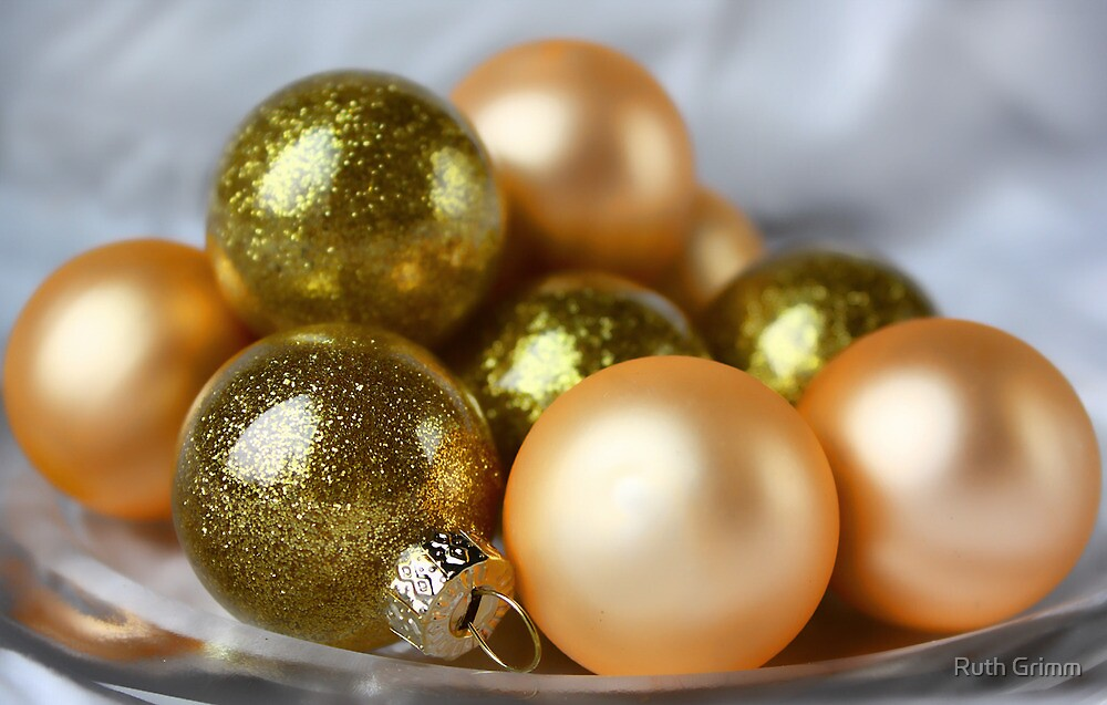 Golden Balls by Ruth Grimm