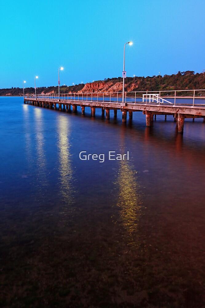 Half Moon Bay - Black Rock by Greg Earl