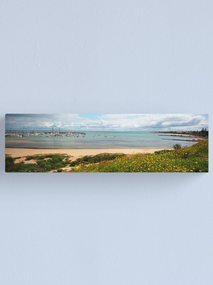 Alternate view of Sandringham Yacht Club - Panorama Canvas Print