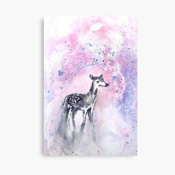 Daydreaming Deer Canvas Print