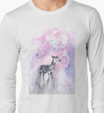 Daydreaming Deer Long Sleeve T-Shirt