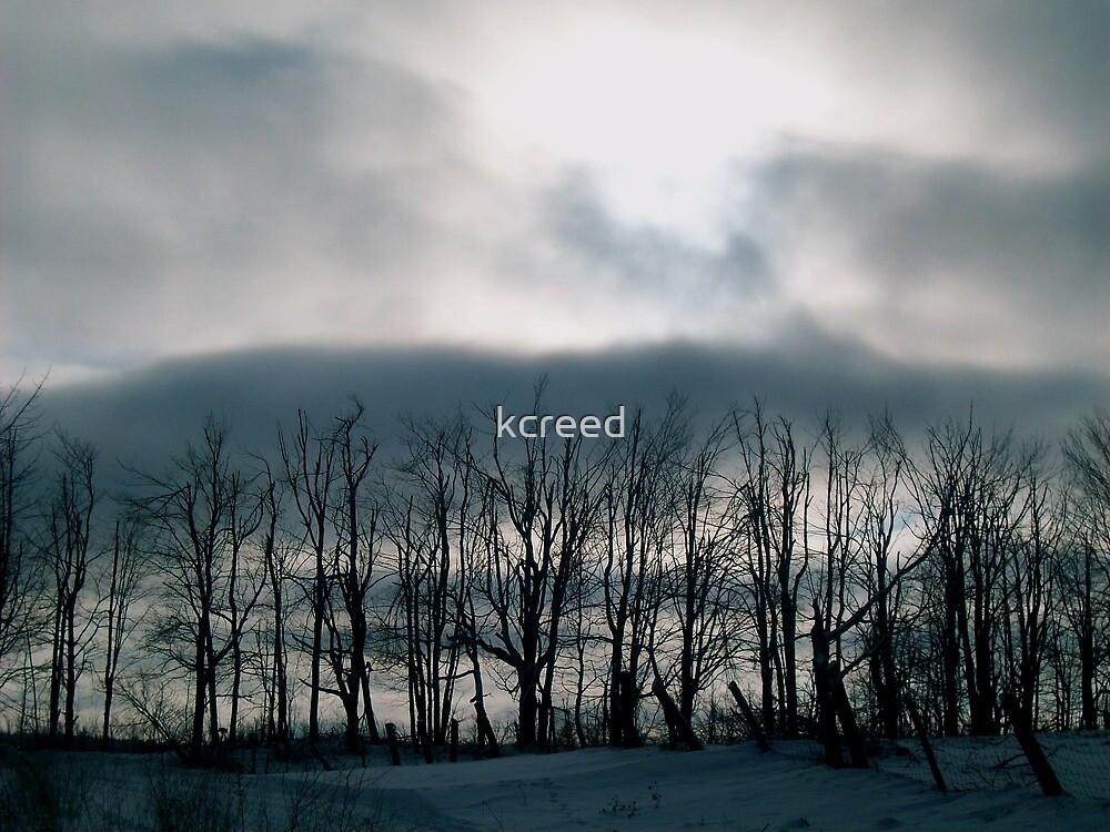 Winter Landscape, Massachusetts by kcreed
