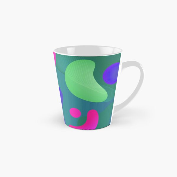 Very Cool, Super Awesome and kind of Pretty Amazing Colorful Abstract Pattern Tall Mug