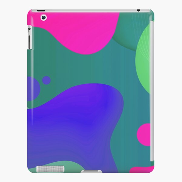 Very Cool, Super Awesome and kind of Pretty Amazing Colorful Abstract Pattern iPad Snap Case