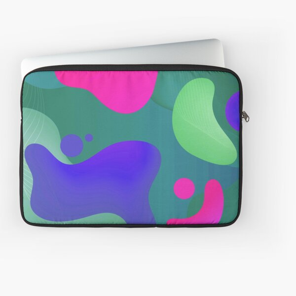Very Cool, Super Awesome and kind of Pretty Amazing Colorful Abstract Pattern Laptop Sleeve