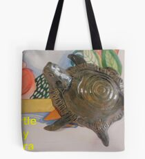 TURTLE ARRIVES Tote Bag