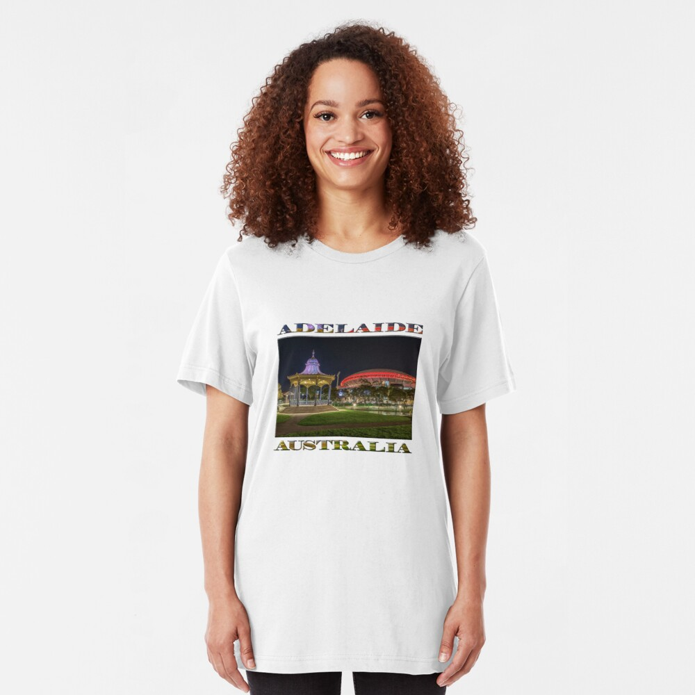 Elder Park Elegance (poster edition) Slim Fit T-Shirt