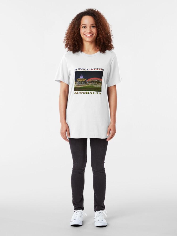 Alternate view of Elder Park Elegance (poster edition) Slim Fit T-Shirt