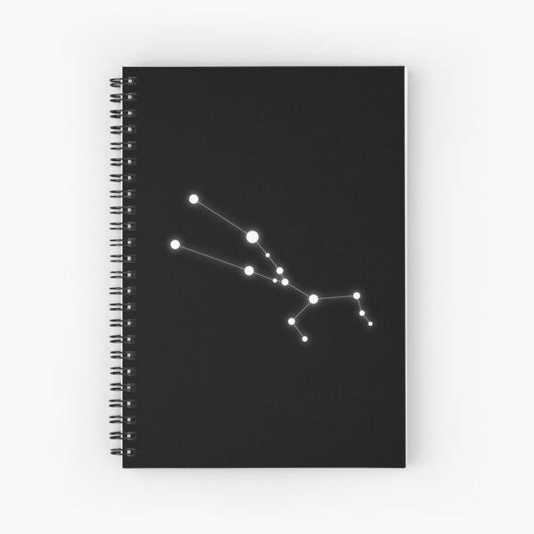 Taurus zodiac star sign Spiral Notebook