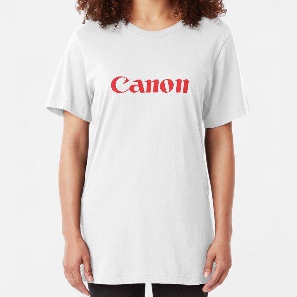 Canon Slim Fit T-Shirt