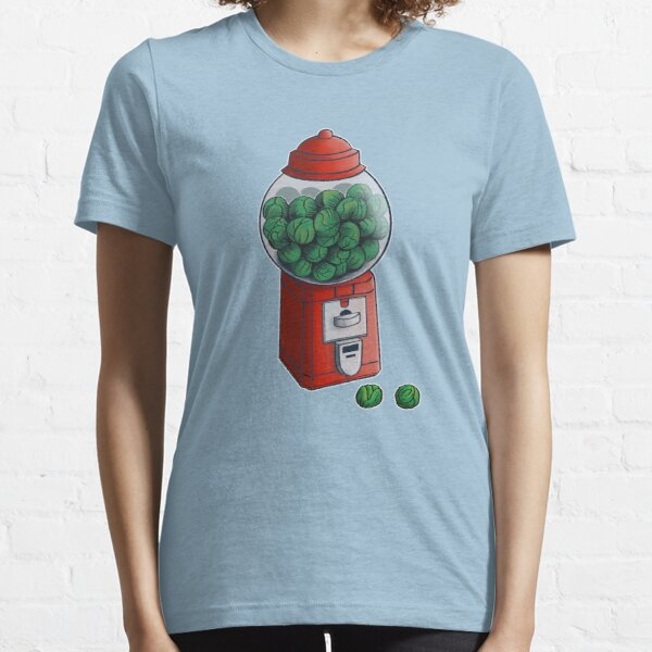 Gumball Brussel Sprouts- Alternative Chrimbo Sweets-  Essential T-Shirt