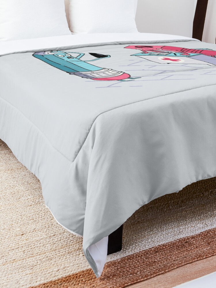 Alternate view of BROKEN PENCIL Comforter