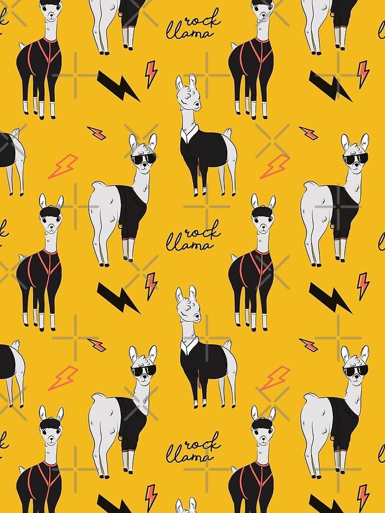 Rock llama by Milatoo