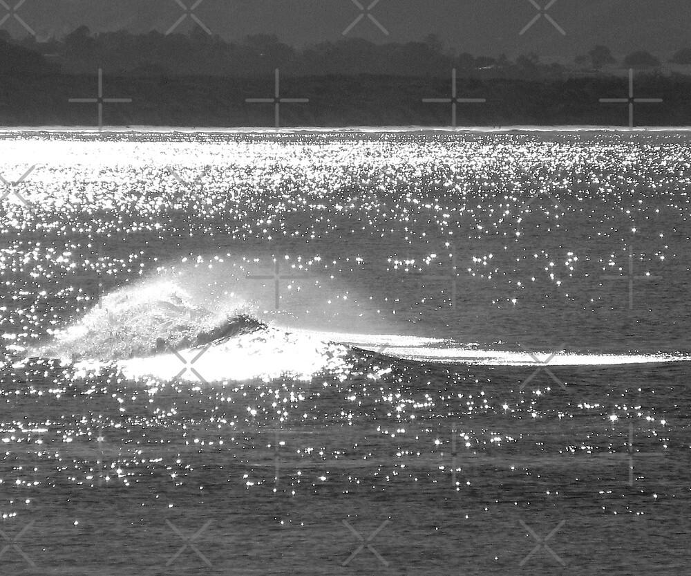 Glistening - Byron Bay  by Louise Linossi Telfer