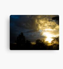 Sunrise 10 Canvas Print