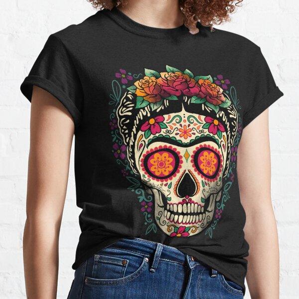 Frida calavera Camiseta clásica