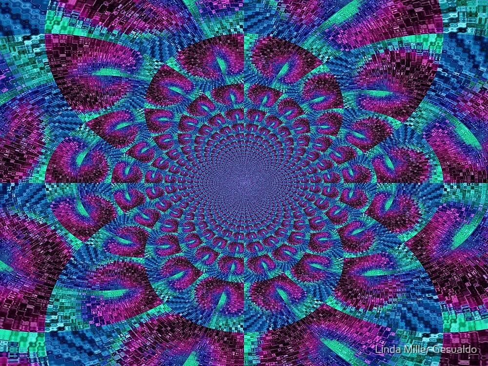Swirls by Linda Miller Gesualdo