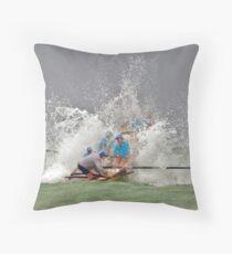 Lakes girls hit the break Throw Pillow