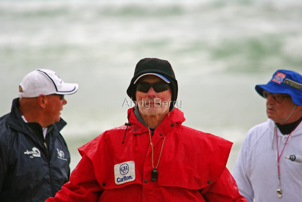 In command at Ocean Grove surf boats by Andy Berry