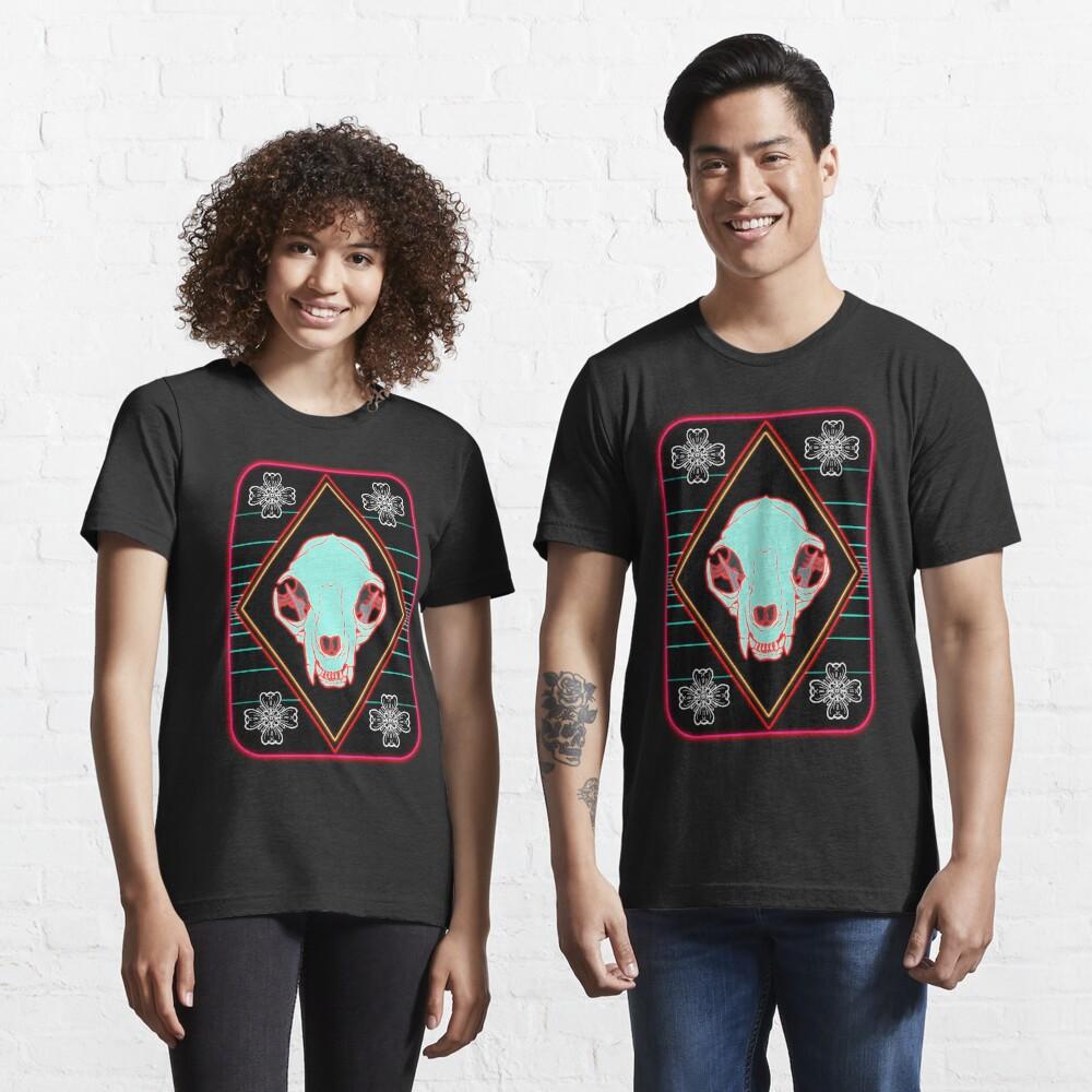 T-shirt essentiel «Synthwave Cat»