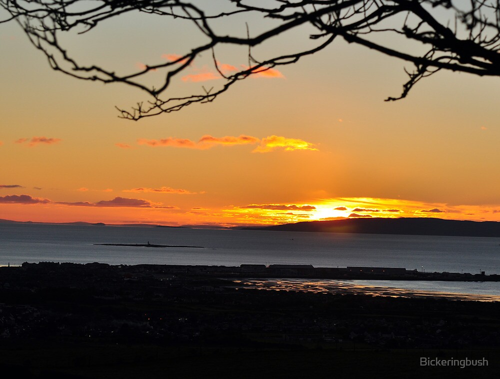 Troon Sunset by Bickeringbush