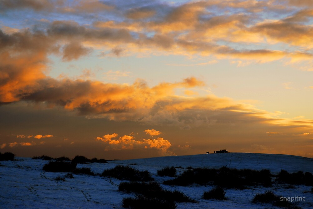 """""""SUNSET OVER THE MOOR"""" by snapitnc"""