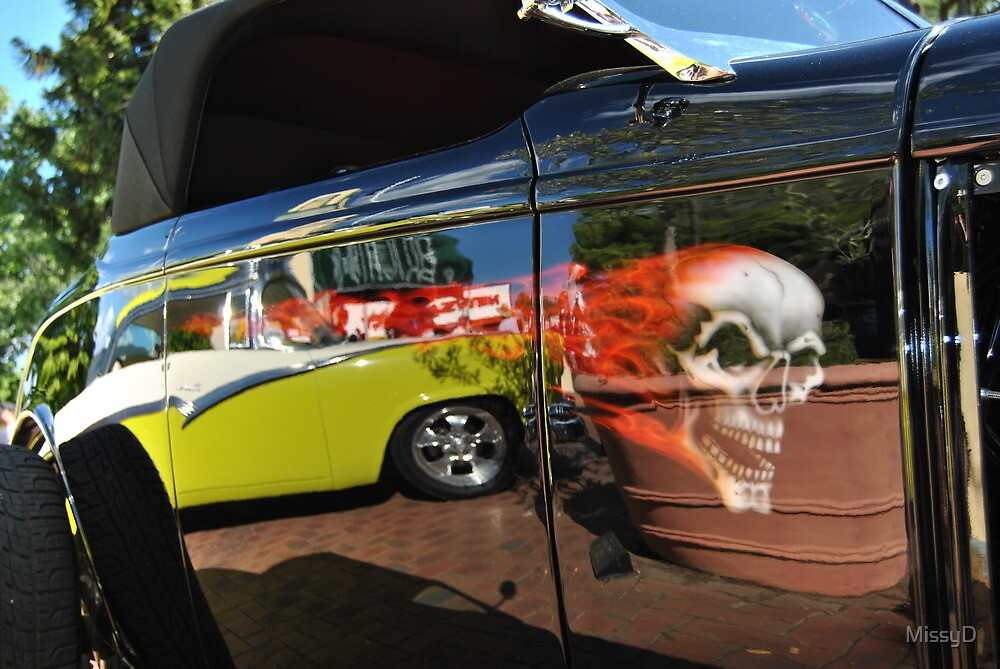 Flamed Hot Rod Reflections by MissyD