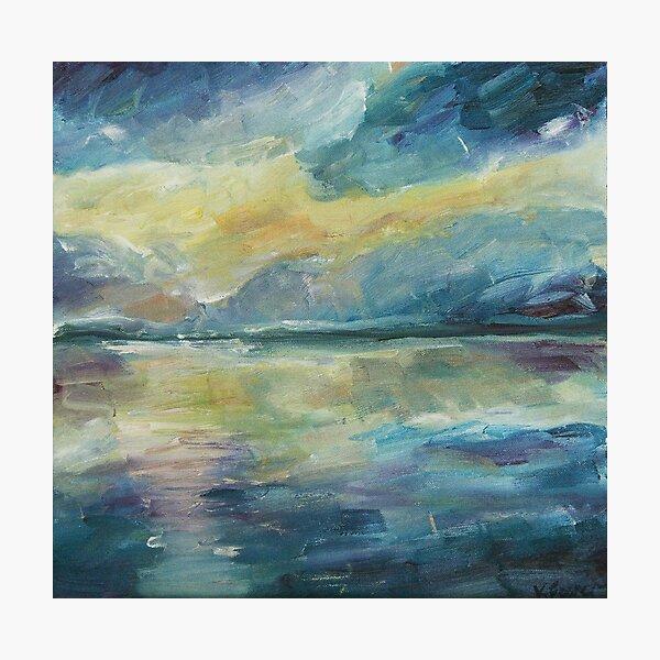 Mirror sea-Moreton Bay  Photographic Print
