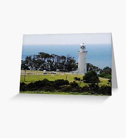 Lighthouse at Table Cape Greeting Card