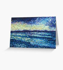 Swept Away-Laguna Bay Noosa Greeting Card