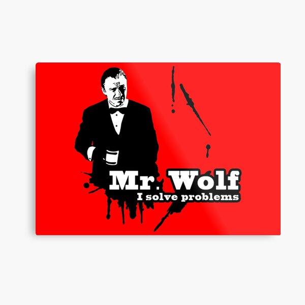 Mr. Wolf Impression métallique