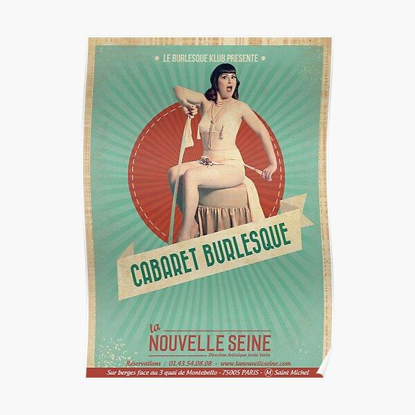 Cabaret Burlesque 2019 Poster