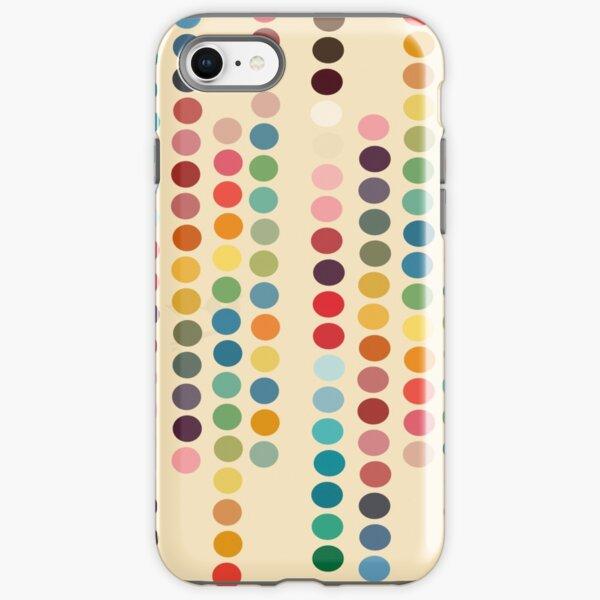 Retro dots iPhone Tough Case