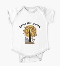 Creepy Halloween Tree Kids Clothes