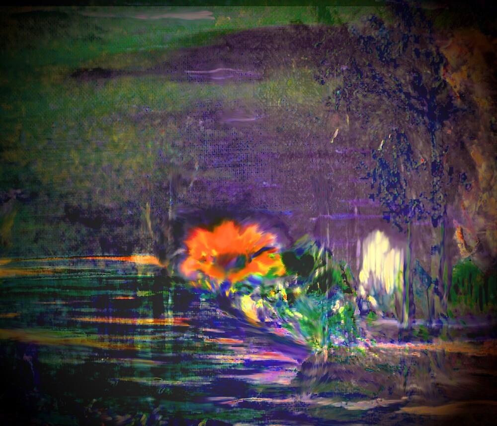 the sacred orange flower by DanCreatrion