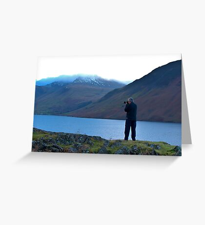 Shooting the Water at Wastwater Greeting Card