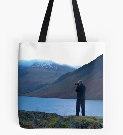 Shooting the Water at Wastwater Tote Bag