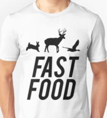 Fast Food Deer Hunter Venison T-Shirt