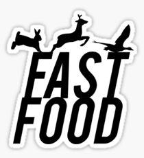 Fast Food Deer Hunter Venison Sticker