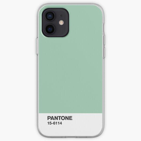 Pantone 15-6114 Coque souple iPhone