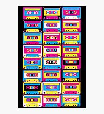 Tape Cassettes  Photographic Print