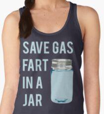 Save Gas Fart In A Jar Women's Tank Top