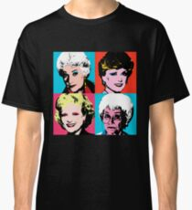 Camiseta clásica Golden Warhol Girls